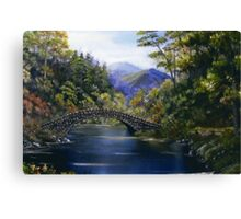 """Stone Bridge"" - somewhere in Ireland Canvas Print"
