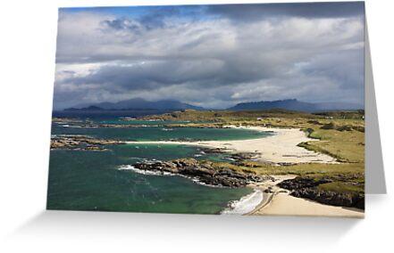 Sanna Bay on the Ardnamurchan Peninsula. by John Cameron