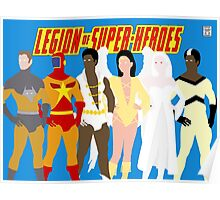Legion of Super-Heroes Minimal 5 Poster
