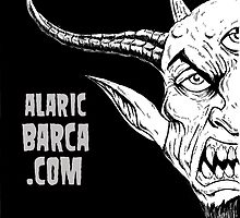 alaricbarca.com death metal illustration by Alaric  Barca