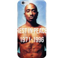 Rest In Peace Tupac Shakur  iPhone Case/Skin