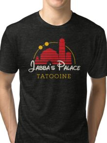 Jabba's Palace (dark version) Tri-blend T-Shirt