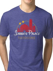 Jabba's Palace (dark version) Tri-blend T-Shirt