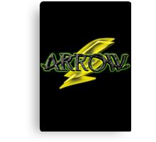 Arrow and Flash cross-over Tv Series  Canvas Print