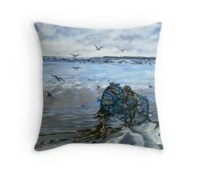 """Lahinch Beach, County Clare, Ireland"" Throw Pillow"