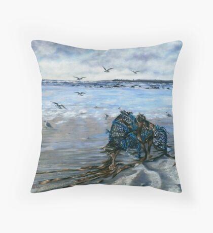 """Lahinch Beach, County Clare, Ireland"" Throw Pillow"