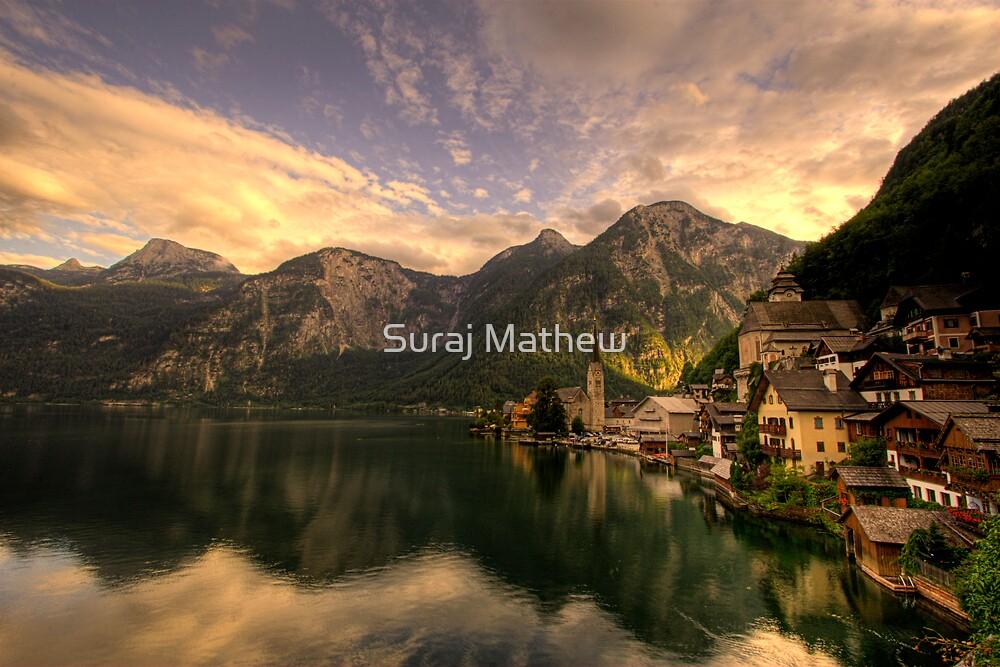 Hallstatt and Christuskirche, Austria by Suraj Mathew