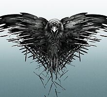 The three  eyed raven of Game of Thrones by Jaythat