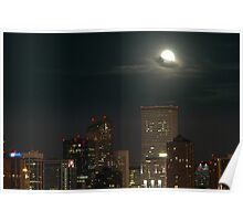 moon scape Poster