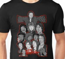 the warriors 35th anniversary character collage Unisex T-Shirt