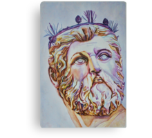 Neptune - From Neptune's Fountain, Florence, Italy Canvas Print