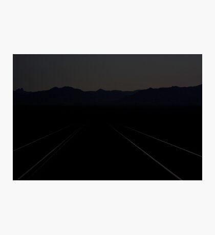 Ivanpah Valley Moonlight Photographic Print
