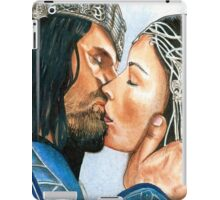 ARWEN & ARAGORN KISS LORD OF THE RINGS iPad Case/Skin