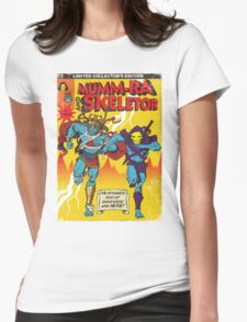 Dynamic Duo Womens Fitted T-Shirt