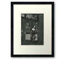 Sister-Cum-Dancing Erotica 1987 Framed Print