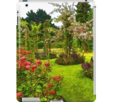 Impressions of London - Queen Mary's Rose Garden iPad Case/Skin