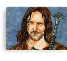ARAGORN LORD OF THE RINGS Canvas Print