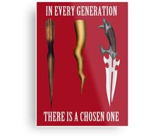 Buffy - In Every Generation... Metal Print