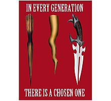 Buffy - In Every Generation... Photographic Print