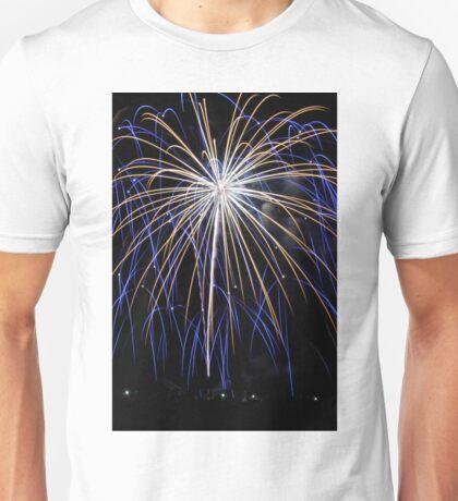 Blue Dancing Unisex T-Shirt