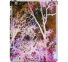 Season's Change: Abstract with Creepy Tree II  iPad Case/Skin