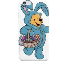 Winnie the Pooh as the Easter Bunny iPhone Case/Skin