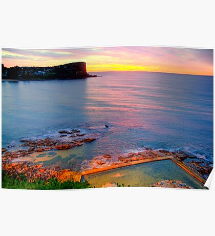 Marvel - Avalon  Beach - Sydney Beaches - The HDR Series Poster