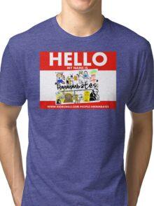 hello hmmmbates Tri-blend T-Shirt