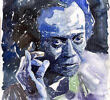 Jazz Miles Davis 11 Blue by Yuriy Shevchuk