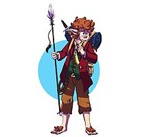 Eagle-raised Bilbo - On an Adventure Photographic Print