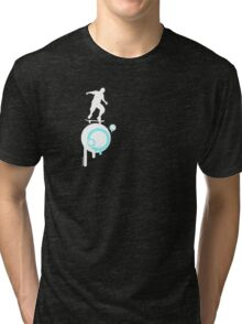not to sure??? Tri-blend T-Shirt