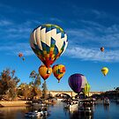 Balloons Over The Channel by tvlgoddess