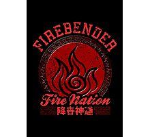 Firebender Photographic Print