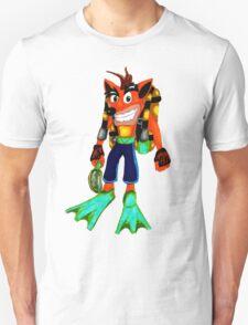 Crash Scuba Diver T-Shirt
