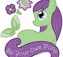 Be Your Own Pony (Ladies) by Painted Octoflame Studios