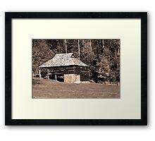 Will Messer Barn II Framed Print