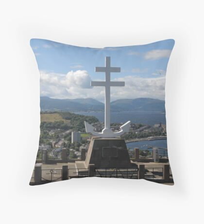 The Free French Memorial Throw Pillow