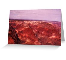 Grand Canyon - Helicopter View Greeting Card