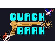 Quack Zap Bark Photographic Print