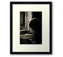 Cant Take This Anymore Framed Print
