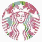 Floral Starbucks by erinaugusta