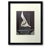uninvited guest Framed Print