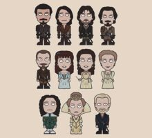 The Musketeers: The Whole Cast (shirt) by redscharlach