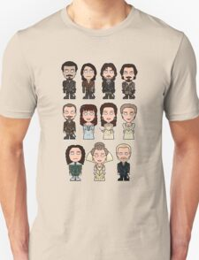The Musketeers: The Whole Cast (shirt) Unisex T-Shirt