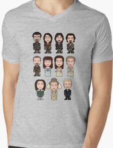 The Musketeers: The Whole Cast (shirt) Mens V-Neck T-Shirt