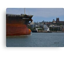 NAVIOS GALILEO COAL CARGO SHIP Canvas Print