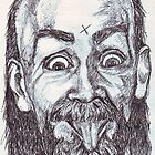 Charlie Manson Drawing by DreddArt