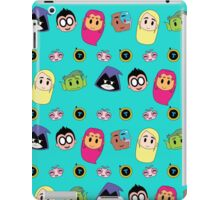 Teen Titan Heads iPad Case/Skin