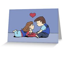 valentine storytime Greeting Card