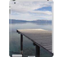 Sun Streaming Down on the Dock iPad Case/Skin